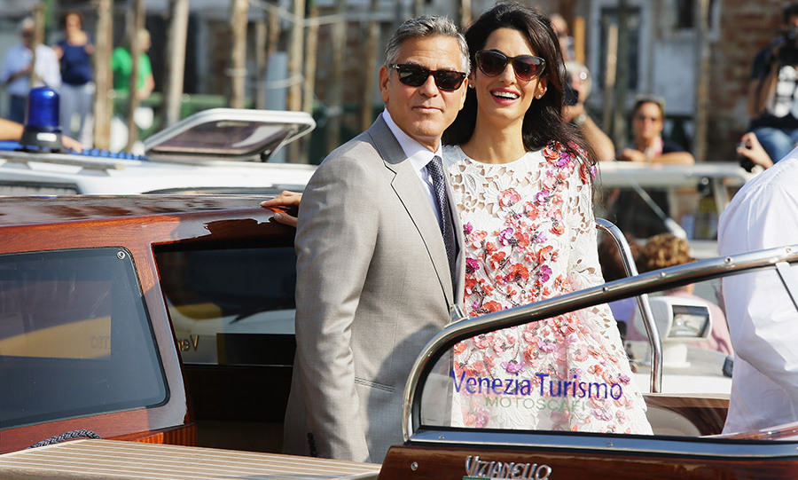 "Following their September 2014 nuptials, George told HELLO!: ""My verdict on being Mr. and Mrs. Clooney? It feels pretty damn great.""<br>