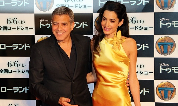 "Before their wedding, George praised his future spouse at a charity gala in Florence. ""I guess what I'd like to say to my bride-to-be Amal is that I love you very much, and I can't wait to be your husband.""