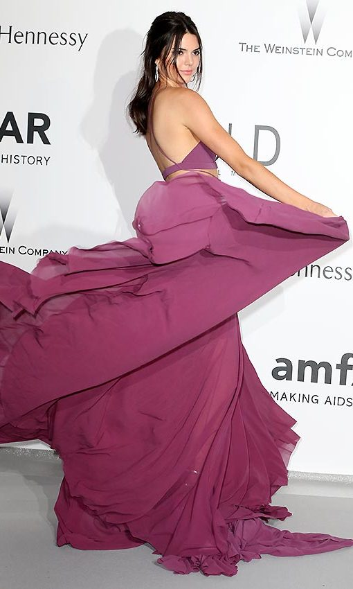 Kendall Jenner captivated us with this spectacular gown from the Calvin Klein Collection at the amfAR Gala during the Cannes Film Festival 2015. 