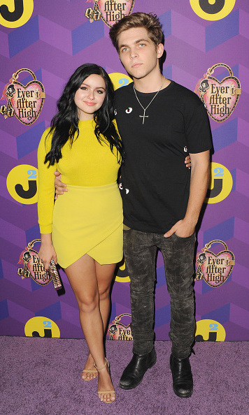 "August 27: Ariel Winter and Laurent Claude were coupled up at the Just Jared ""Way to Wonderland"" party in West Hollywood, CA. 