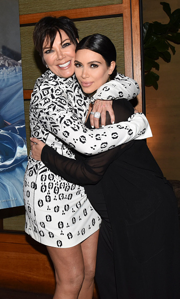 August 24: Kim Kardashian and Kris Jenner shared some mother-daughter time at the launch of Kris's Haute Living cover at Nobu in Malibu.