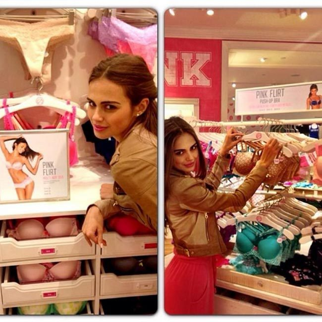 Xenia has been the face of Victoria's Secret PINK collection.