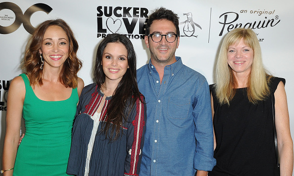 "August 30: Rachel Bilson and Autumn Reeser joined 'The O.C.' creator Josh Schwartz and producer Stephanie Savage at the first and only performance of ""The Unauthorized O.C. Musical"" in L.A.