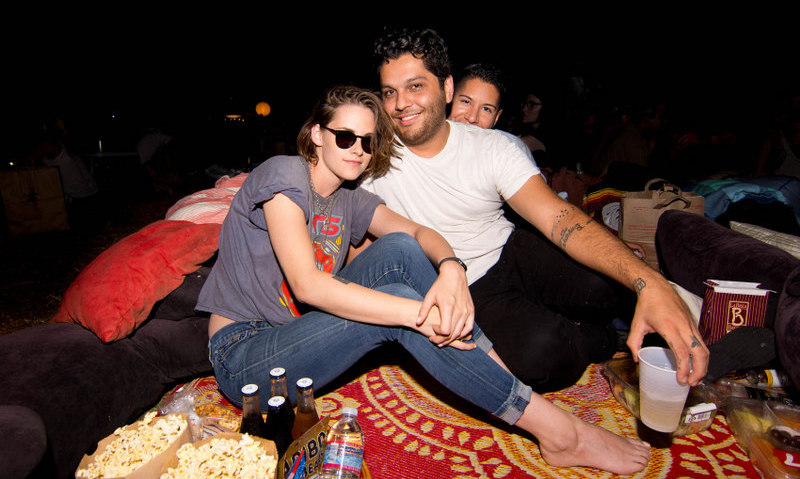 August 29: Kristen Stewart and friends spent their Saturday night at Cinespia's screening of 'The Virgin Suicides' at the Hollywood Forever Cemetery.