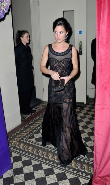 She looks elegant in black. The philanthropist donned an edgier look for the Sugarplum Ball in 2013.