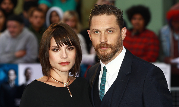 Tom Hardy S Wife Charlotte Riley Debuts Baby Bump On Red