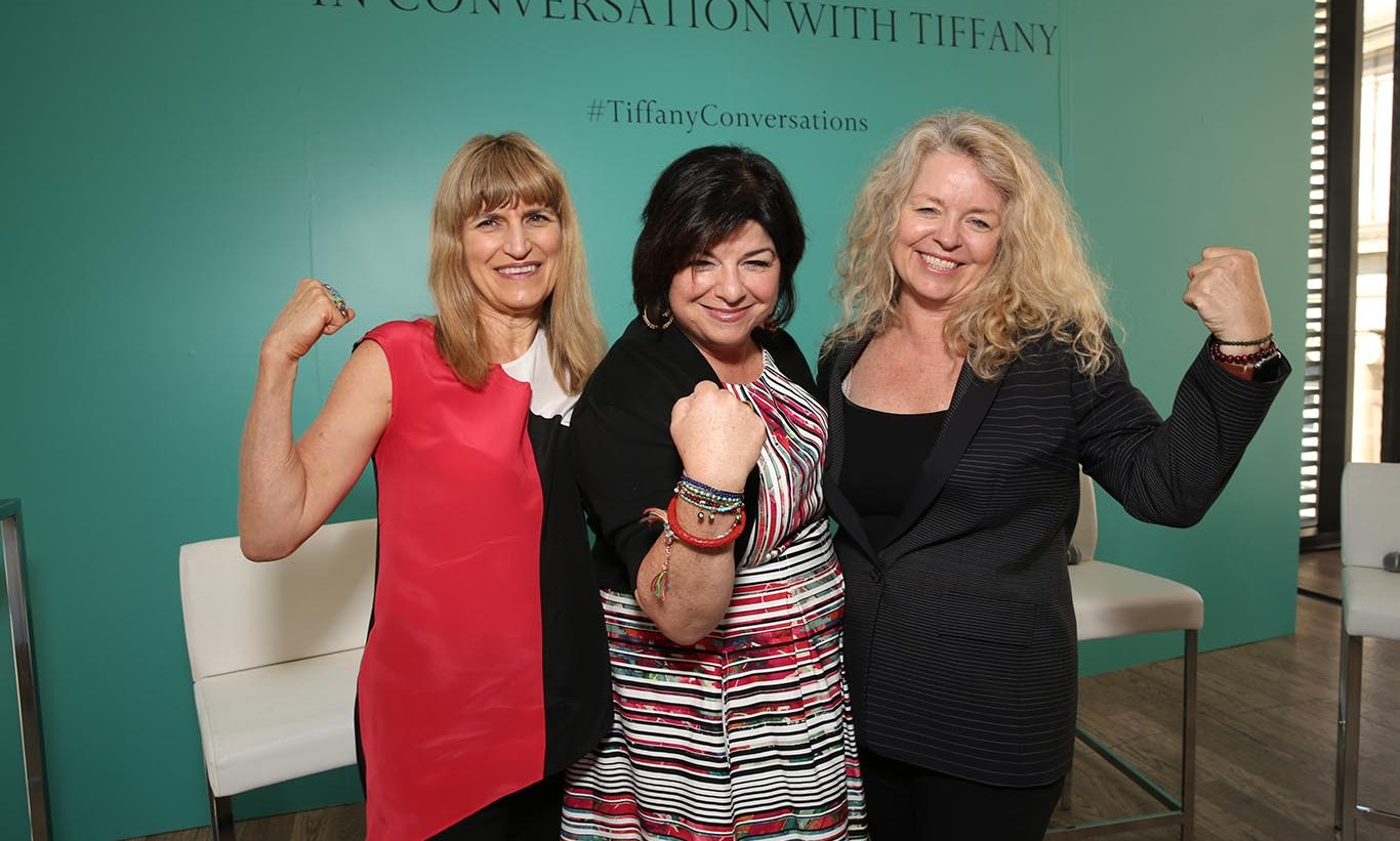 September 14: Filmmaker Catherine Hardwicke, producer Susan Cartsonis and filmmaker Patricia Rozema attended the Tiffany & Co and Women in Film panel during the 2015 Toronto International Film Festival.