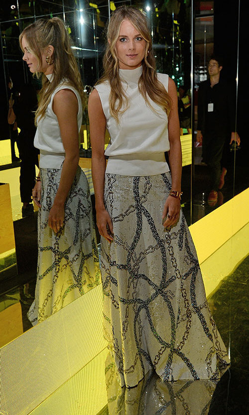 cressida bonas is a style queen during london fashion week