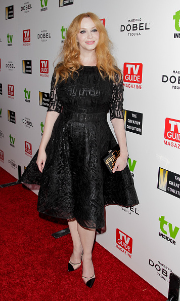 September 18: Christina Hendricks supported the Television Industry Advocacy Awards at Sunset Tower in West Hollywood.