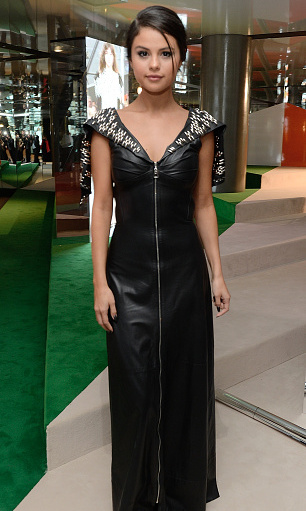 September 20: Selena Gomez stunned at the Louis Vuitton Series 3 VIP launch during London Fashion Week.