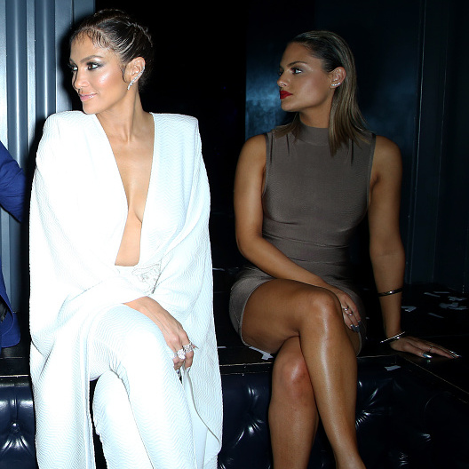 September 19: Look this way! Jennifer Lopez and Pia Toscano celebrated JLo's Las Vegas residency at the  Chateau Nightclub & Rooftop at the Paris Hotel.