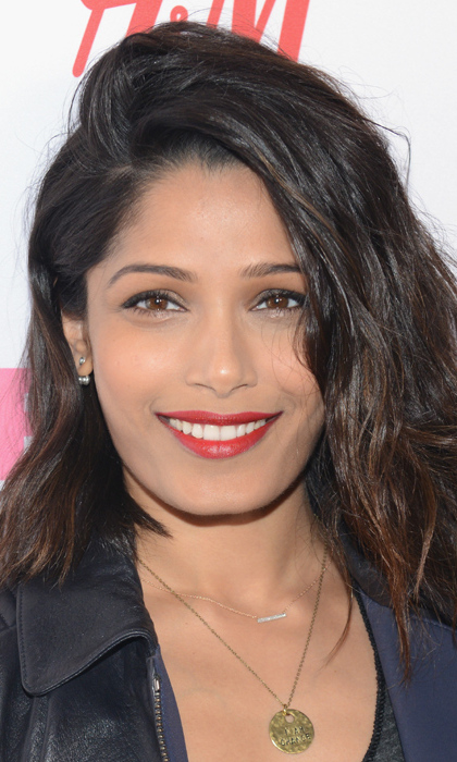 Freida Pinto's yogurt face mask: <br>