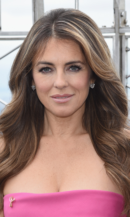 Elizabeth Hurley's olive oil hair treatment: <br> 