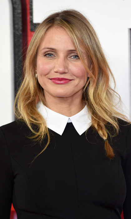 Cameron Diaz's early morning hydration: <br>