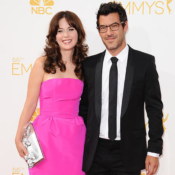 Zooey Deschanel and Jacob Pechenik <BR>