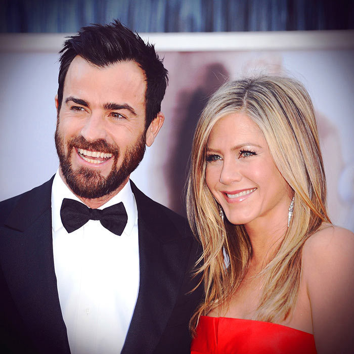 Justin Theroux and Jennifer Aniston <BR>