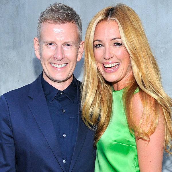 Patrick Kielty and Cat Deeley <BR>