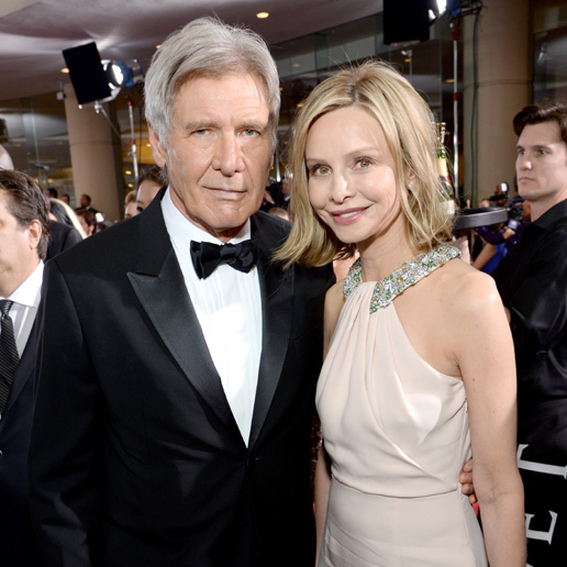 Harrison Ford and Calista Flockhart <BR>