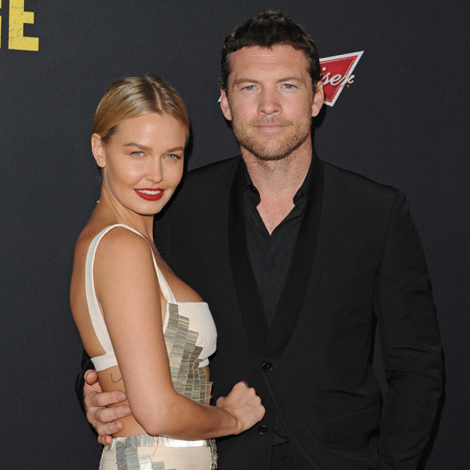 Sam Worthington and Lara Bingle <BR>