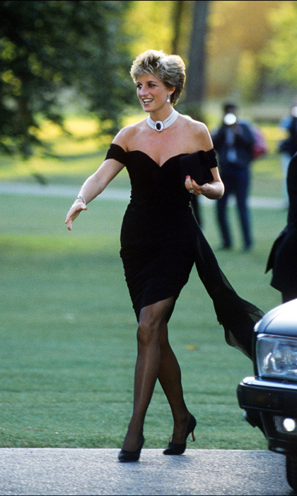 Princess Diana rocked an LBD by Christina Stambolian to attend a party at the Serpentine Gallery in London.<br>