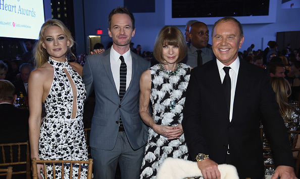 October 15: Kate Hudson, Neil Patrick Harris, Anna Wintour and Michael Kors came together during the Golden Heart Awards in New York City. 