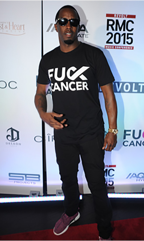 "October 15: Sean ""Diddy"" Combs and Scooter Braun hosted the FCancer Celebration event during the Revolt Music Conference in Miami. 