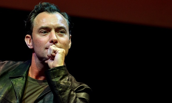 October 17: Jude Law spoke to a full audience during Jude law attends a meeting with spectators during the Rome Film Festival.  