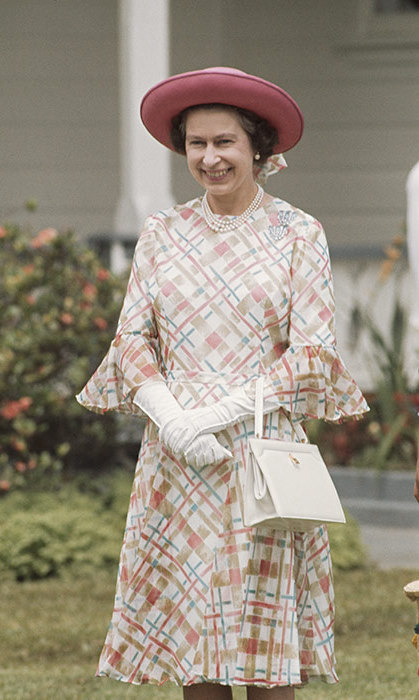 Her Majesty during her visit to Tonga in February 1977.