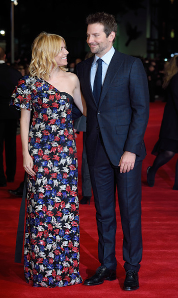 October 28: From Rome to London, Sienna Miller and Bradley Cooper looked radiant on the red carpet of their movie 'Burnt.'