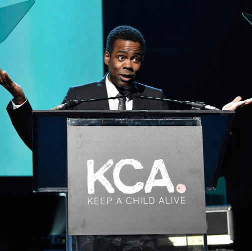 November 5: Chris Rock was the head emcee at Alicia Keys' 12th Annual Keep A Child Alive Black Ball sponsored by Windows 10's Upgrade Your World campaign in New York City. 