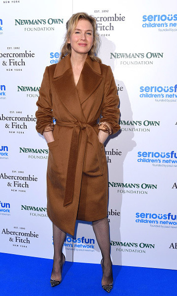 November 3: Here comes Bridgett! Renee Zellweger took a break from filming 'Bridget Jones's Baby' to attend the SeriousFun Children's Network event in London. 