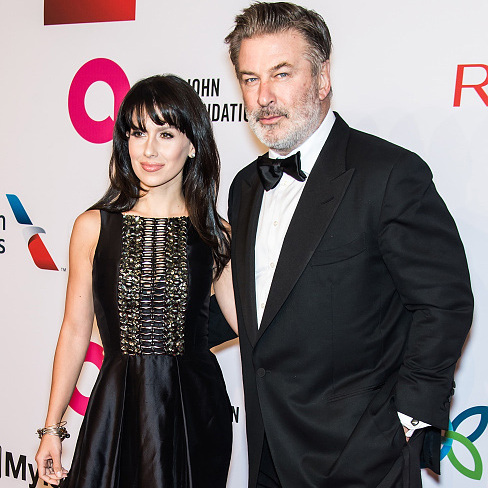 November 2: Parents' night out! Alec and Hilaria Baldwin enjoyed a night on the town at the 14th Annual Elton John AIDS Foundation benefit in New York City. 
