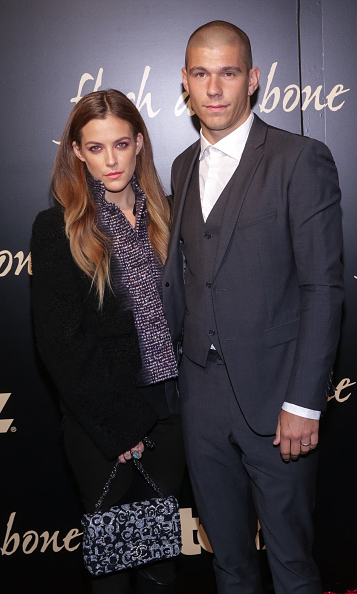 "November 2:  Riley Keough and Ben Smith-Petersen attended the Starz 'Flesh and Blood"" premiere in New York City. 