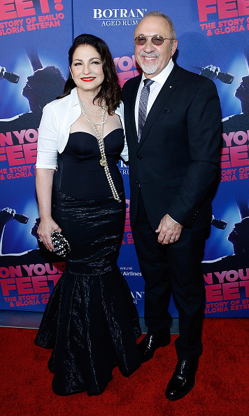 November 5: Gloria and Emilio Estefan celebrated the opening night of 'On Your Feet' at the Marquis Theatre in NYC.