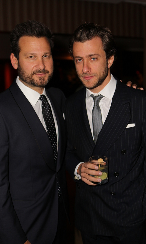 November 5: Sixty Hotels founder Jason Pomeranc and director/photographer Francesco Carrozzini celebrated the release of HUGO BOSS' 'Sincerely, LA,' during a party at the Sunset Tower in West Hollywood.
