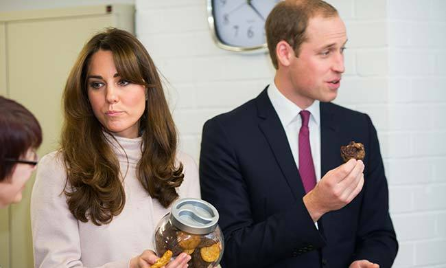Because Prince William is such a fan, a second cake made entirely of McVitie's chocolate biscuits was served at the reception of his wedding to Kate Middleton. <br>