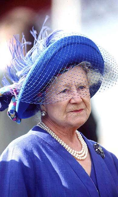 The Queen Mother had such a wonderful collection of hats that her attendants would often try them on for fun.<br>