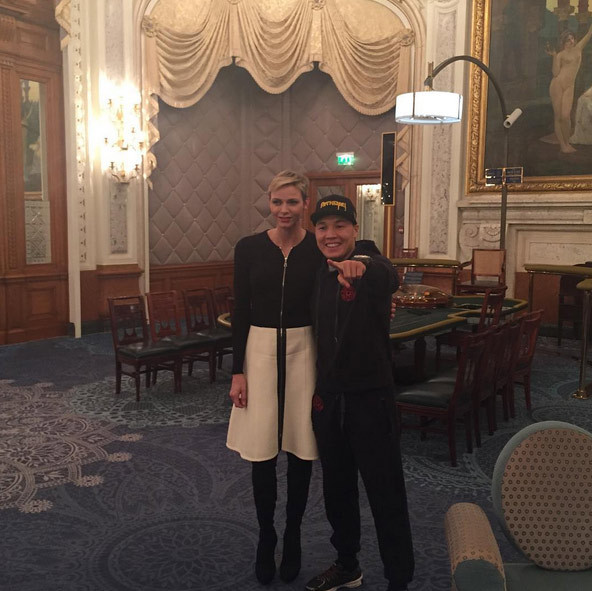 Princess Charlene of Monaco was a knockout when she met boxer Ruslan Provodnikov in Monte Carlo.