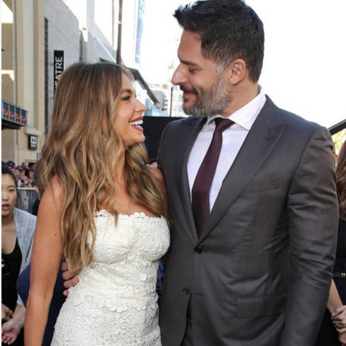 No hiding a love like Sofia Vergara and Joe Manganiello's. The couple, who got engaged back in December 2014 after nearly six months of dating, will officially become husband and wife on Sunday in Palm Beach, Florida. The 'Modern Family' and 'Magic Mike' stars have been anything but shy when it comes to their relationship. As they prepare to walk down the aisle, here's a look back at Sofia and Joe's most loved up moments.