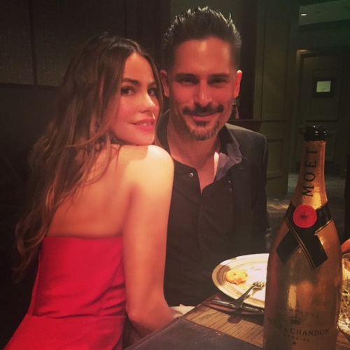The couple celebrated their engagement months after the proposal with a party in May 2015!