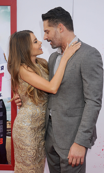 The couple couldn't keep their hands off of each other at the Los Angeles premiere of Sofia's film 'Hot Pursuit' (April 2015).