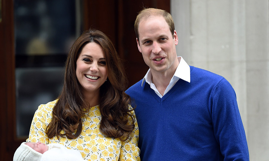 Proud parents The Duke and Duchess of Cambridge introduced their new little bundle of joy on the steps of the private maternity unit at St. Mary's Hospital in Paddington, London on May 2, 2015. 