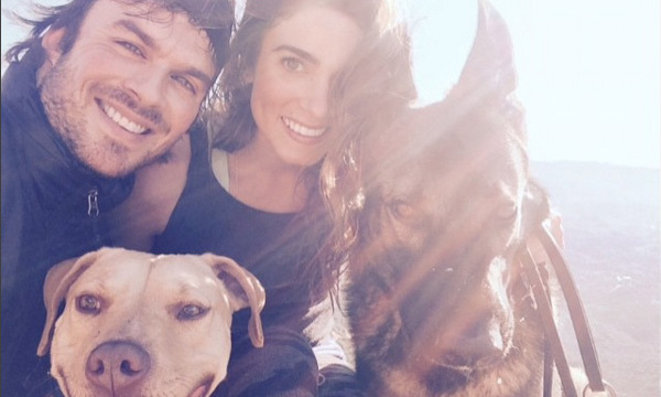 Vocal animal right's activitists Ian Somerhalder and Nikki Reed own several dogs and cats. In 2010 Ian set up his own foundation which supports and looks after animals and the environment.