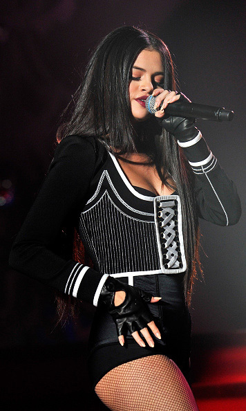 December 3: Come and get it! Selena Gomez made her Jingle Ball debut at WiLD 94.9's Jingle Ball 2015 presented by Capital One at Oracle Arena in Oakland, California.