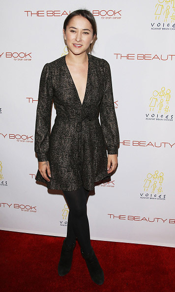 December 3: Zelda Williams attended the launch party for 'The Beauty Book for Brain Cancer: Edition 2' at  Le Jardin, Los Angeles. Zelda is one of the over 200 stars who posed for photographer Darren Tieste's coffee table book which helps fund research to find a cure for the disease. 