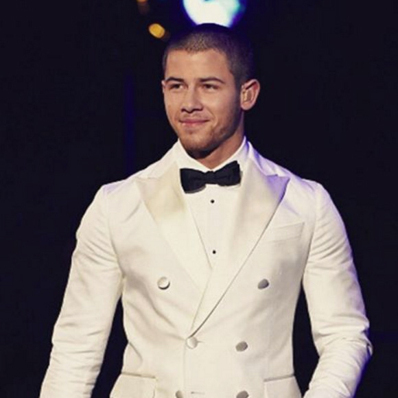 December 2: Nick Jonas was 'honored' to take the stage during the taping of the Sinatra 100: All-Star Grammy concert at the Wynn hotel in Las Vegas.