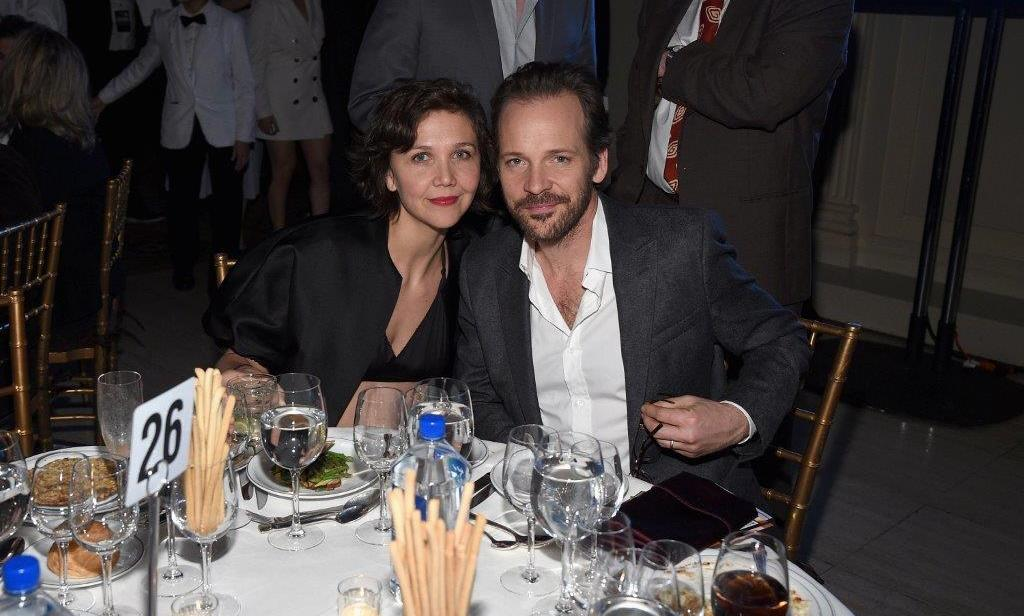 November 30: Maggie Gyllenhaal and Peter Sarsgaard attended the 25th IFP Gotham Independent Film awards sponsored by FIJI Water in New York City.