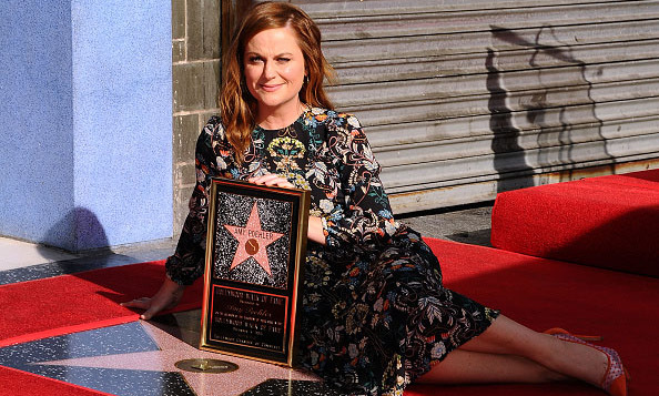 December 3: Funny gal Amy Poehler  was honored with a star on the Hollywood Walk of Fame in Los Angeles.