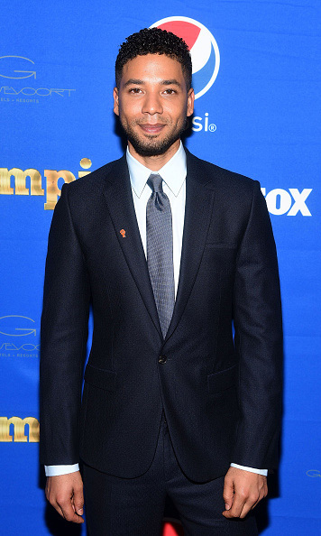 December 2: The future of Pepsi!  #NextPepsiArtist Jussie Smollett attended the 'Empire' viewing party at Gansevoort Park Avenue in New York City. 