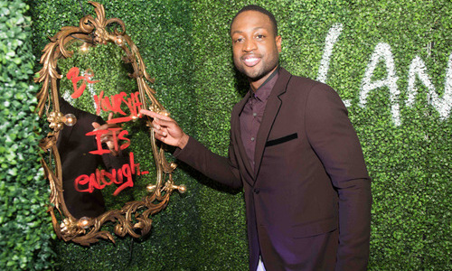 December 4: Talk about inspirational art! Hublot & Haute Living came together to toast Art Basel with a private dinner hosted by Dwyane Wade and Gabrielle Union.